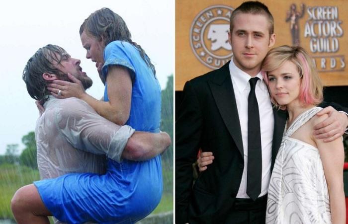 Сладкая парочка познакомилась в 2004 году на съемках невероятно романтичного фильма «Дневник памяти».