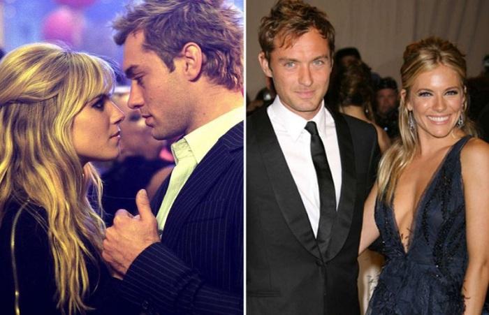Актёры повстречались в 2004 году на съемочной площадке фильма «Красавчик Алфи, или Чего хотят мужчины».