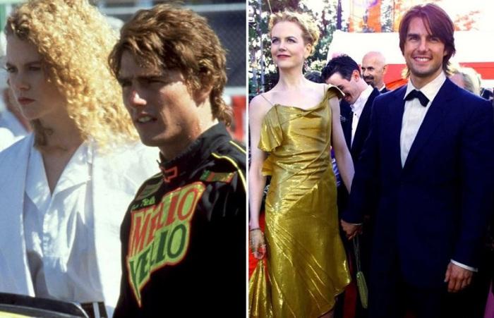 Николь и Том влюбились друг в друга во время съемок фильма «Дни грома».