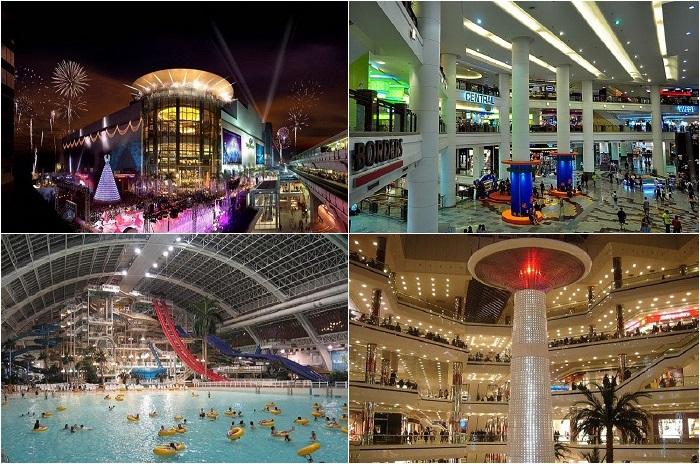 Крупнейшие торговые центры мира.