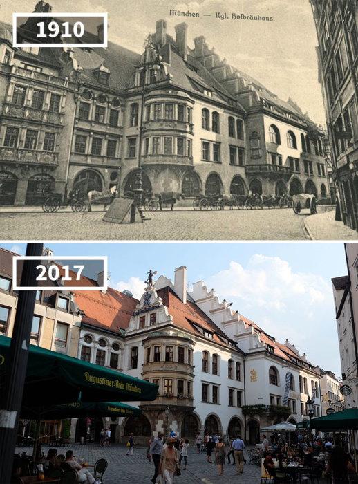 Пивной ресторан «Придворная пивоварня», расположенный на площади Плацль, был построен в 16 веке и практически не изменился за все это время.