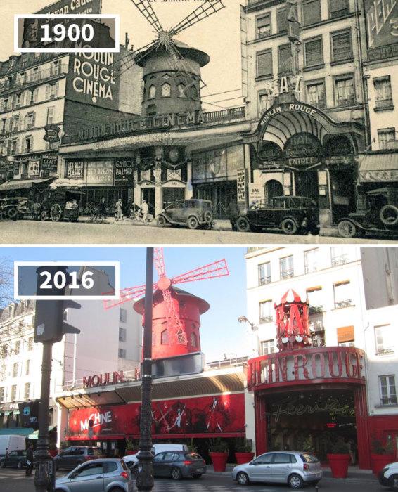 Признанная достопримечательность французской столицы, у которой слегка изменился внешний вид, все так же привлекает желающих посмотреть знаменитый канкан.