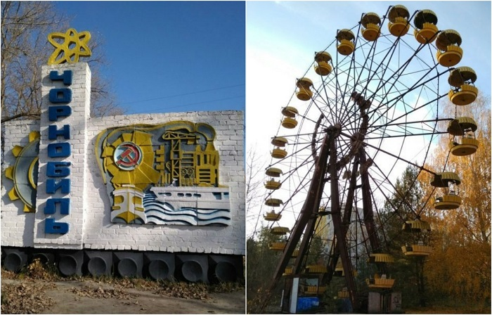 Как изменился Чернобыль через 32 года после аварии.