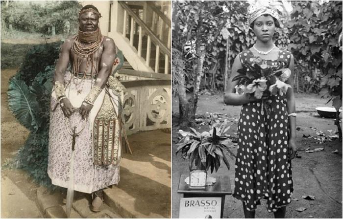 Подборка ретро фотографий Королевского двора Нигерии с середины 1900-х.