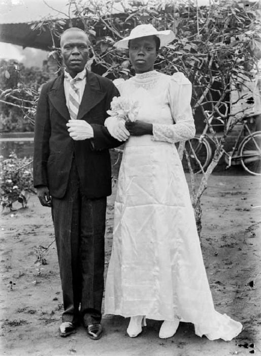 <br>Королева-мать Бенина. 1981 год.