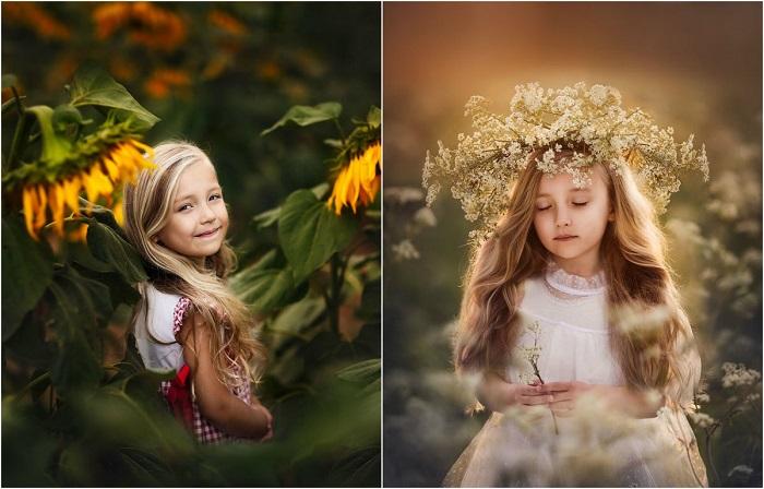 Фотоснимки малышки которые могут вызвать огромное количество положительных эмоций.