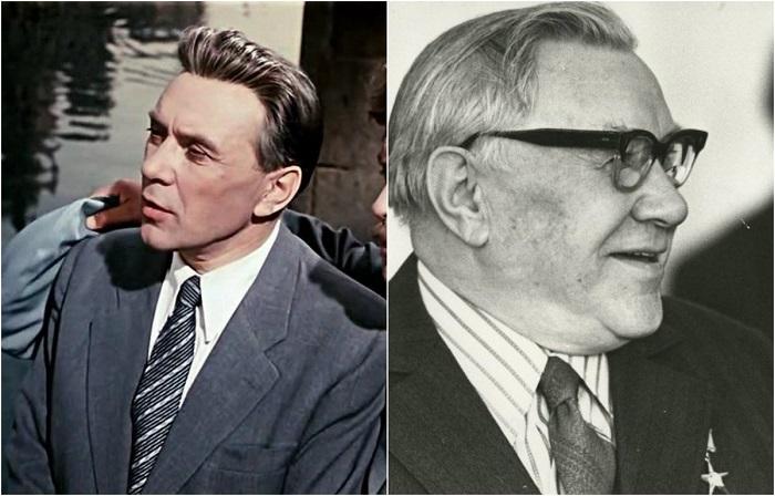 Персонаж - нейрохирург Борис Петрович Чижов, был одной из многих ролей сыгранных актером в советском кинематографе.