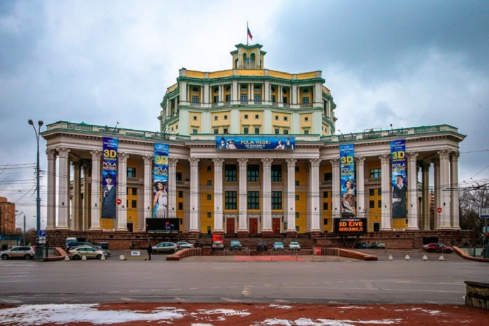 Русский академический театр Российской армии. Современный вид.