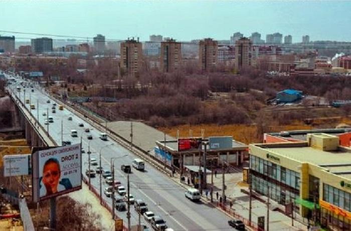 Современный вид на Рабоче-Крестьянскую улицу.