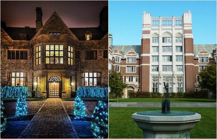 Красивые и престижные учебные заведения.