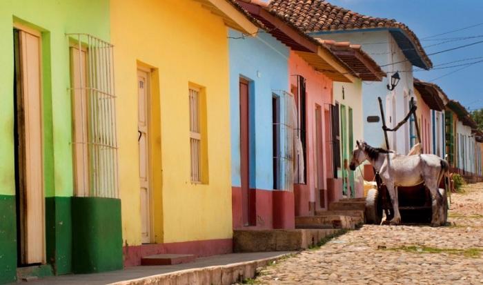 Город-музей на юге кубинского побережья Карибского моря.