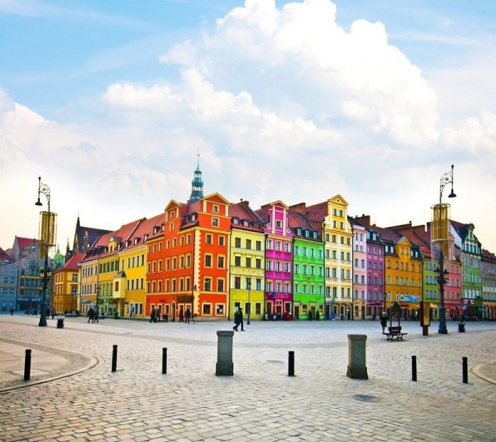 Вроцлав - один из самых ярких и красивых городов в Польше.