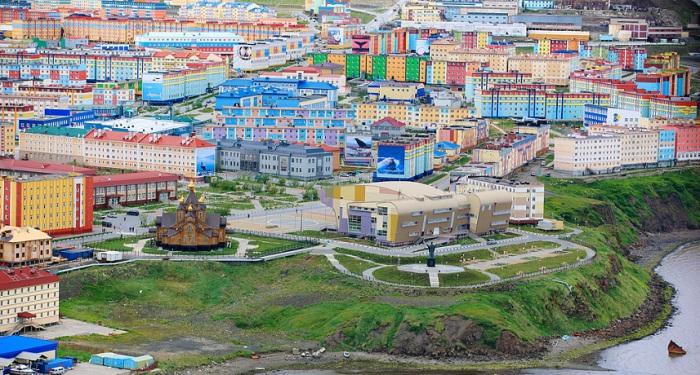 Анадырь - яркая столица самого малонаселённого региона России.