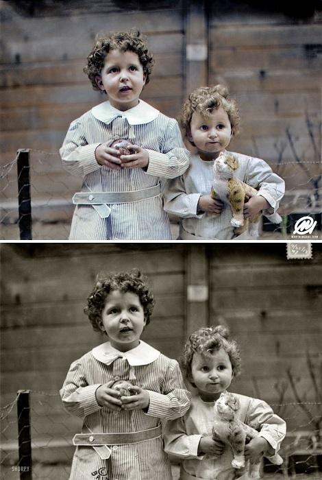 Братья Мишель и Эдмон Навратиль. 1912 год.