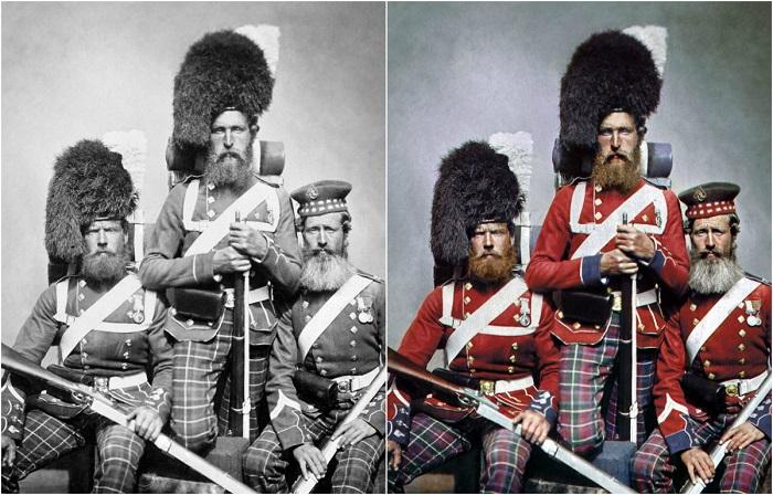 Шотландские горцы, воевавшие в Крыму: Уильям Нобл, Александр Дэвисон и Джон Харпер, 1853-1856 годы.