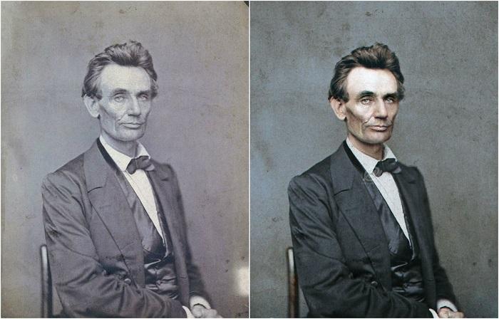 Американский государственный деятель, 16-й президент США (1861—1865) и первый от Республиканской партии, освободитель американских рабов, национальный герой американского народа. 1860 год.