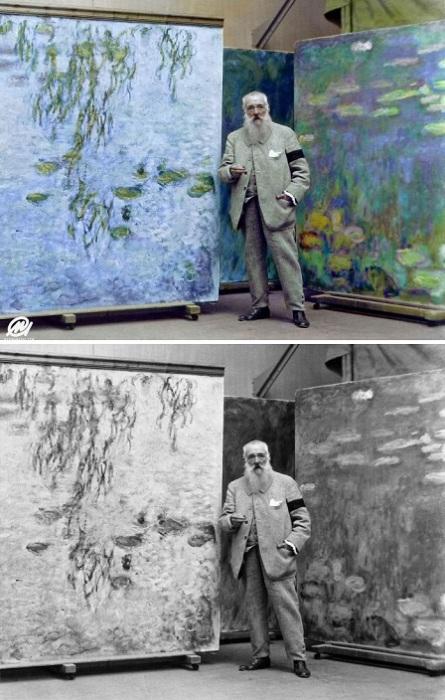 Французский живописец изобрел метод написания пейзажей с одним и тем же сюжетом, изменяющимся в зависимости от времени дня, погоды и времени года.