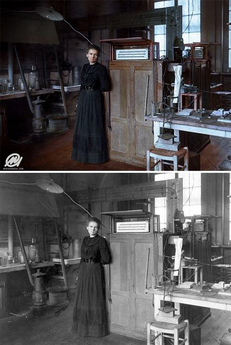 Первая в мире женщина, которая дважды была лауреатом Нобелевской премии.