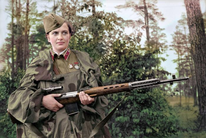 Имела на своём счету 309 подтверждённых смертельных попаданий в противника во время Второй мировой войны.