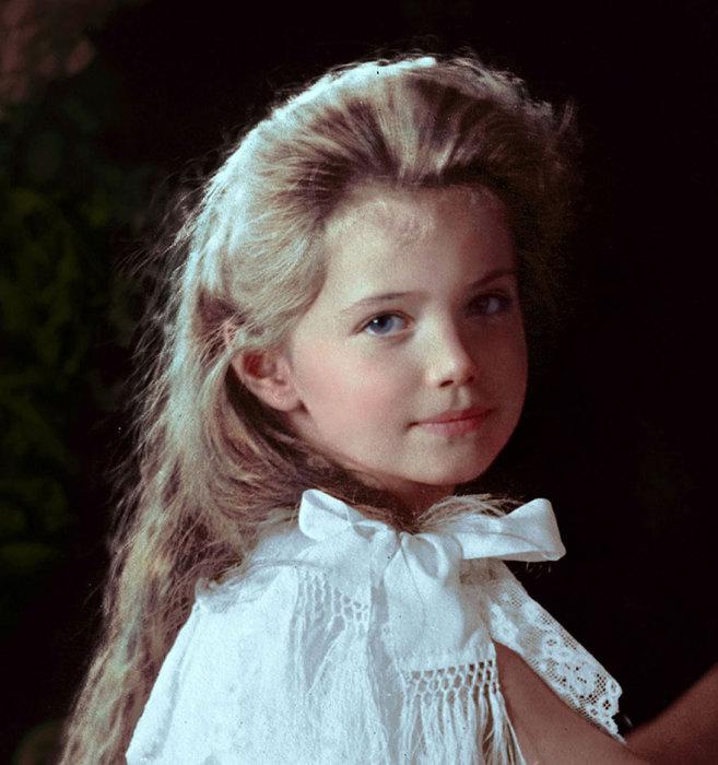 Дочь последнего российского императора Николая II.