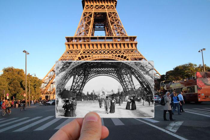 Прогулки под самой известной архитектурной достопримечательностью Парижа.