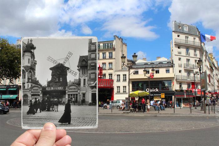 Одно из достопримечательностей французской столицы.