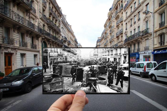 Баррикады на улице Гей-Люссака были отражением желания студентов защитить квартал, который испокон веков являлся их вотчиной.