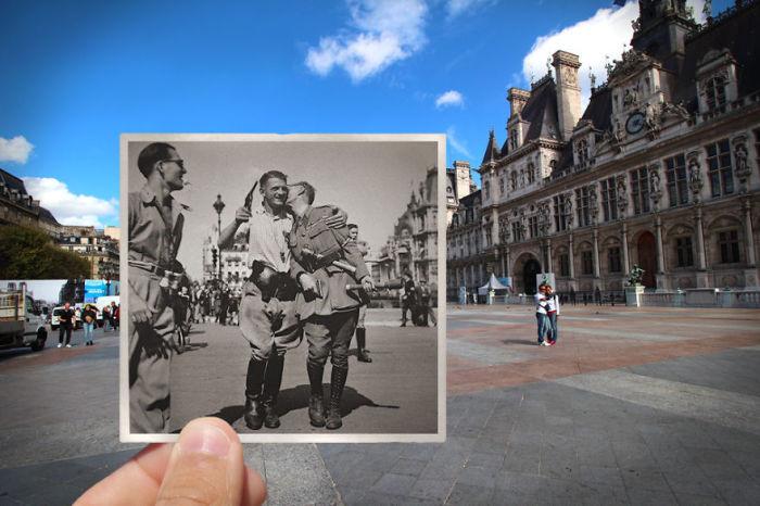 Освобождение Парижа было проведено с 19 по 25 августа 1944. Этот эпизод заканчивает четыре года оккупации французской столицы.