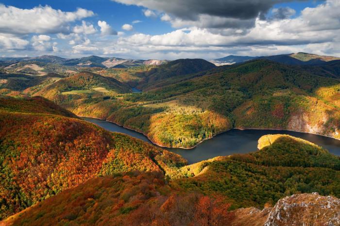 Осень в Словакии. Фотограф L. Majersky.