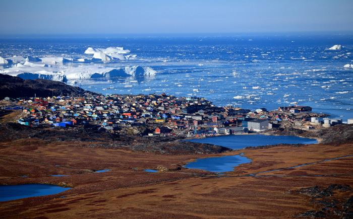 Остров на северо-востоке Северной Америки. Фотограф Чарльз Лин (Charles Lin).