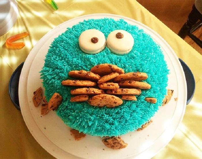 Аппетитный торт для детей.