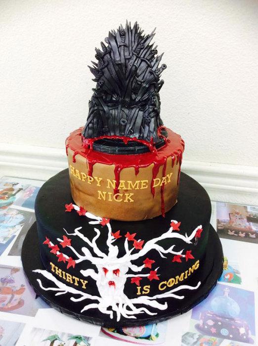 Торт-мечта любого фаната сериала «Игра престолов».