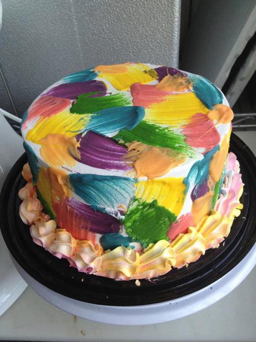 Торт «Живопись».