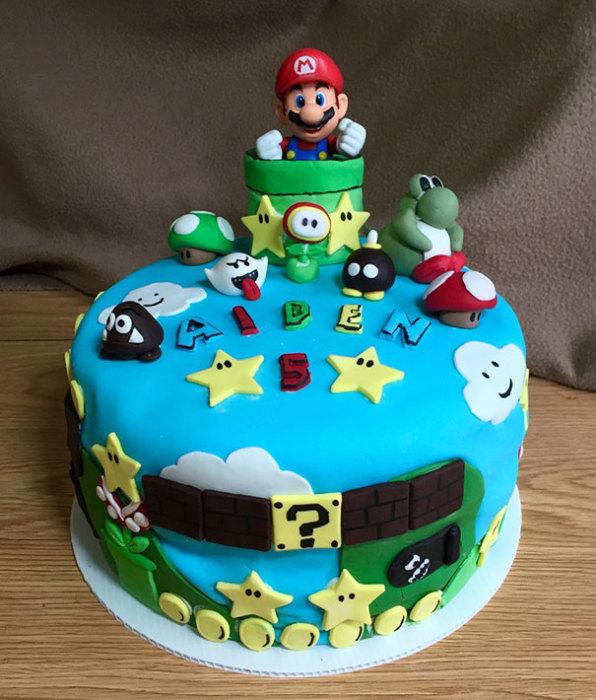 Детский тематический тортик.