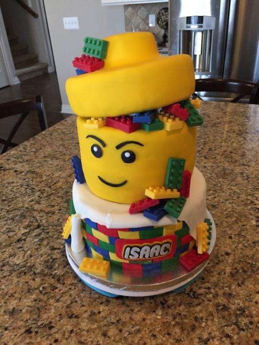 Удивительный торт для детского дня рождения.