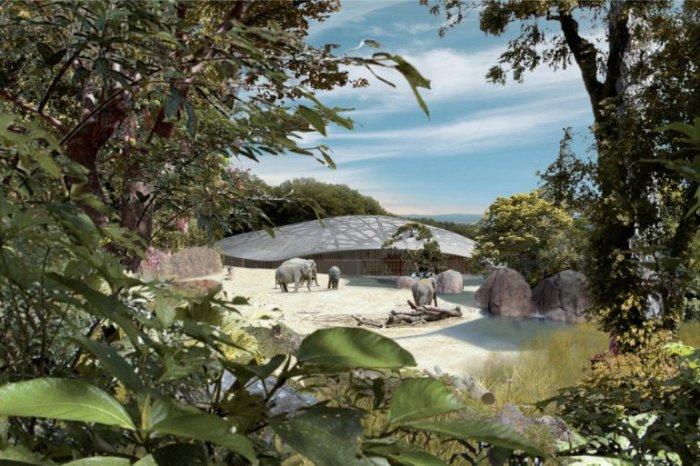Один из лучших зоопарков Европы, где животные живут максимально близко к их собственной среде обитания.