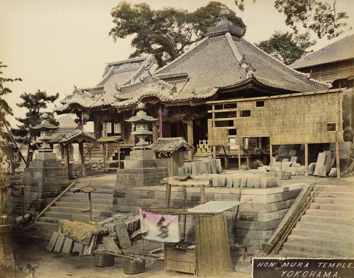Стоительство храма.