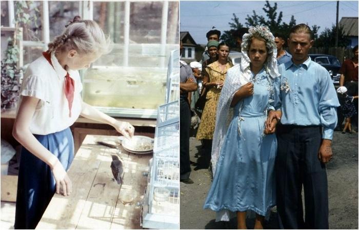 Ранее неопубликованные цветные фотографии времён СССР.
