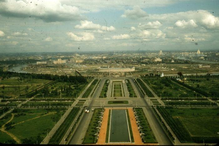 Панорама Москвы.
