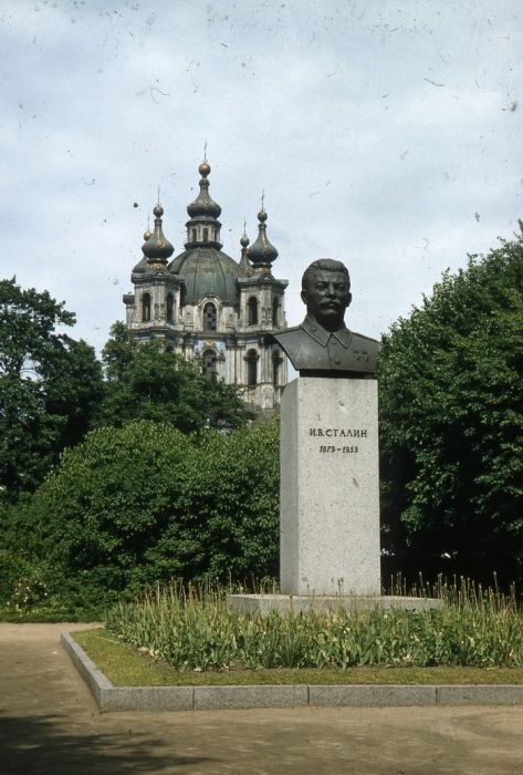 Бюст Иосифа Виссарионовича Сталина.