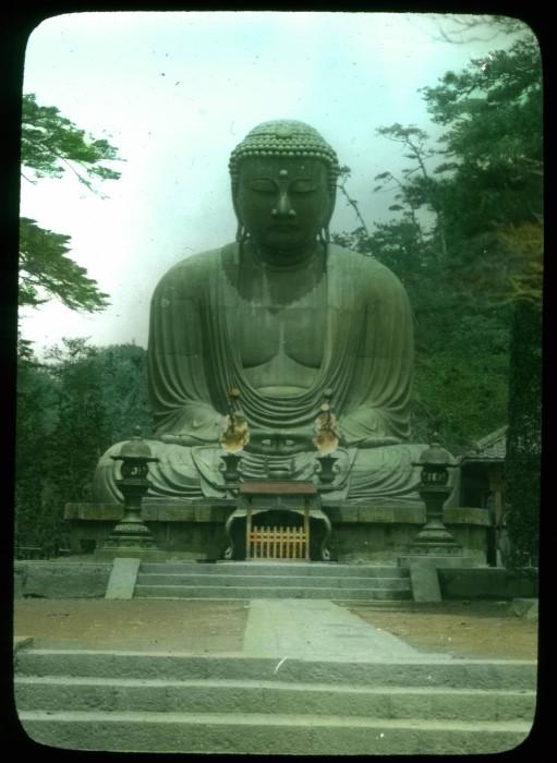 Камакура. Буддийский храм секты дзёдо Котоку-ин.
