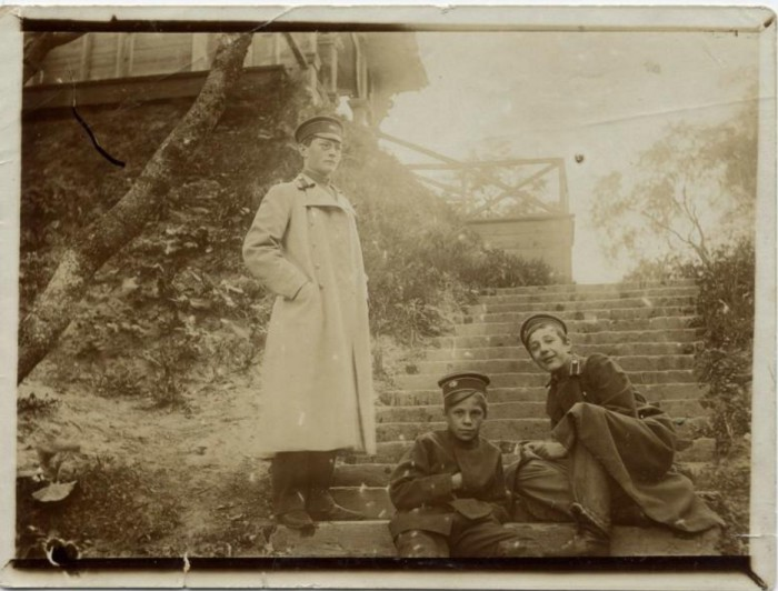 Товарищи Станчинского А.В. Ребиков А., Плетнер Б. и его брат.