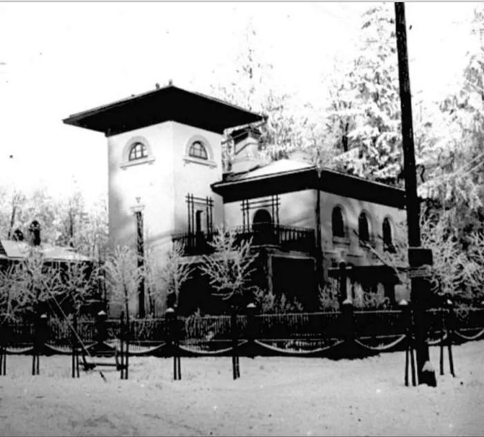 Дом французского коммерсанта, производителя керамики.