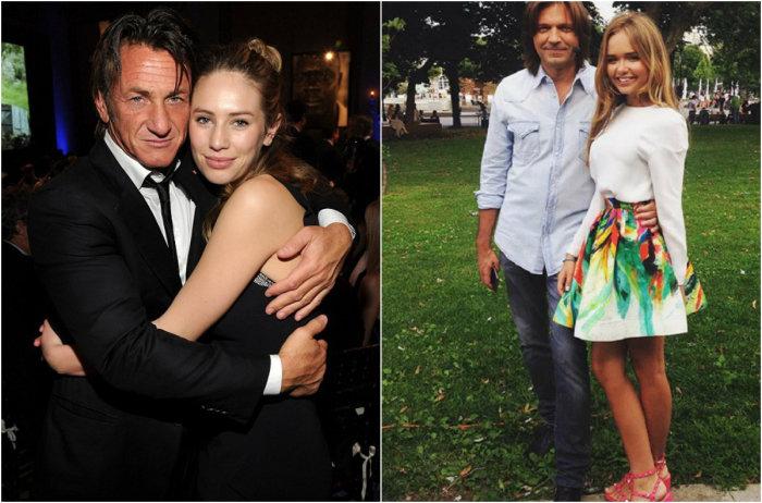 Самые красивые дочери знаменитых родителей.