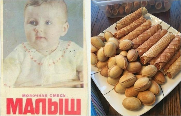 Деликатесы советского ребенка.