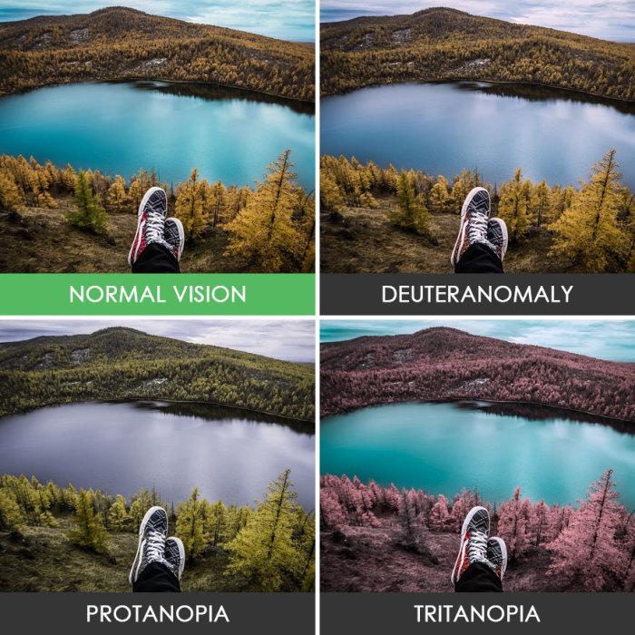 Разные взгляды на одно озеро.