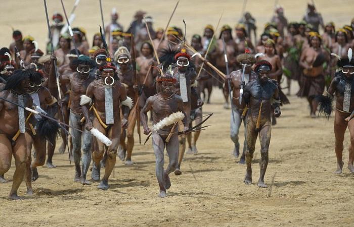 Представители племени Дани.