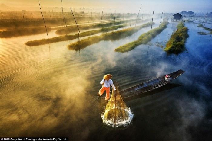 Завораживающий снимок мьянманского фотографа Zay Yar Lin.