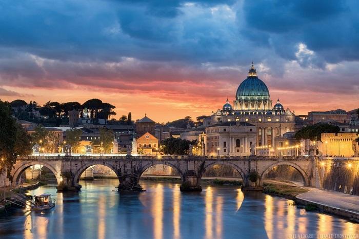 Сияние Рима. Фотограф - Элиа Локарди.