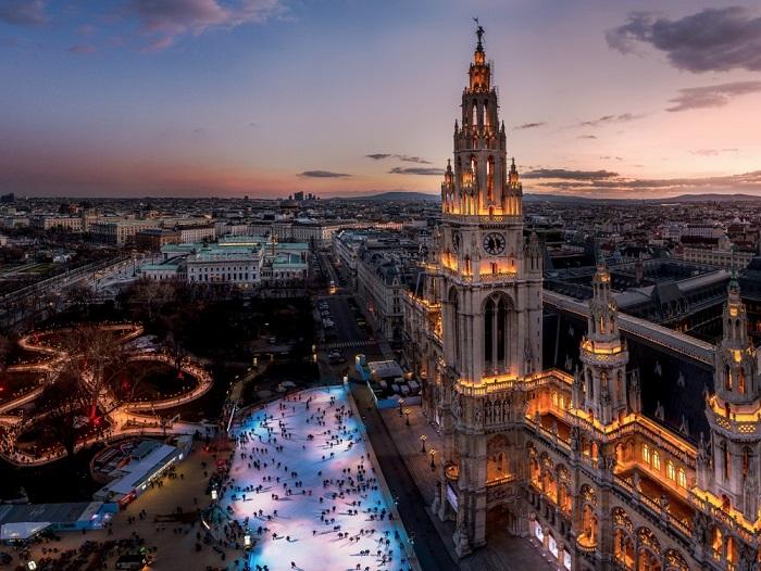 Венская ратуша. Фотограф - Александр Айгнер.